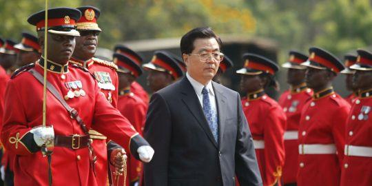 Visite du président chinois en Afrique