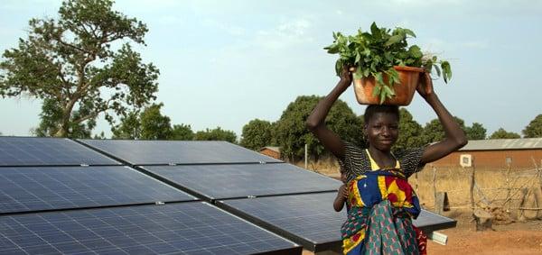 l'énergie solaire pourrait augmenter l'électricité de l'Afrique