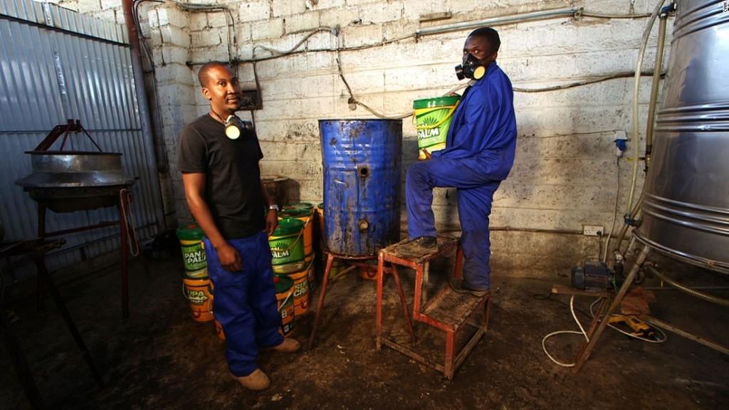 Mutoba Ngoma déchets