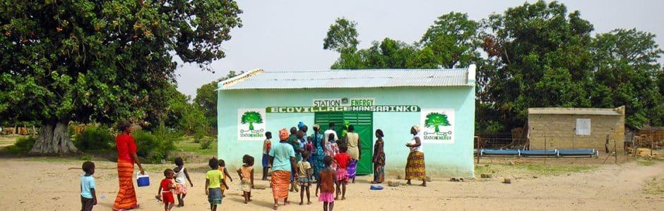 Station Energy : de l'énergie solaire pour les villages africains