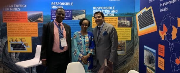 Michael Reza Pacha : sa vision du secteur minier et de son développement en Afrique, lors du dernier Forum Mining Indaba